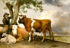 Paulus Potter, The Bull, 1647, Mauritshuis, The Hague