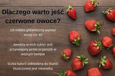 Dieta na odchudzanie powinna być bogata nie tylko w warzywa. Muszą znaleźć się w niej również owoce. Czerwone wiśnie, maliny i truskawki pomogą nam zrzucić nadliczbowe kilogramy, jeżeli będziemy je jeść regularnie i systematycznie ćwiczyć.