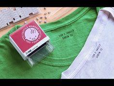 Custom Clothing Stamp by Mine Stamp