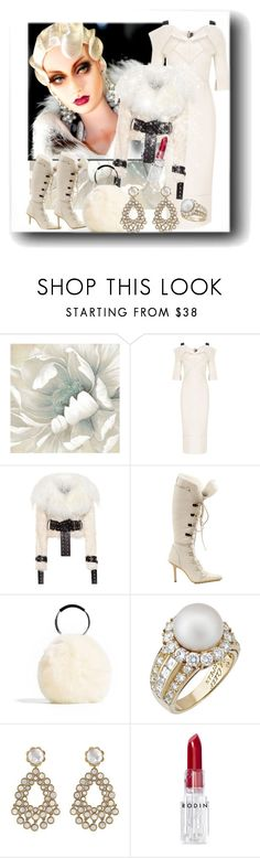 """I can sing for you.."" by sherrysrosecottage-1 ❤ liked on Polyvore featuring Roland Mouret, Monse, Gucci, Van Cleef & Arpels, Asha by ADM and Rodin"