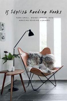 15 Inspiring and Stylish Reading Corners   Nordic Design