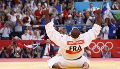 Teddy Riner, champion olympique de judo chez les +100 kg