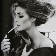 I don't smoke but I love the hair and eyes!