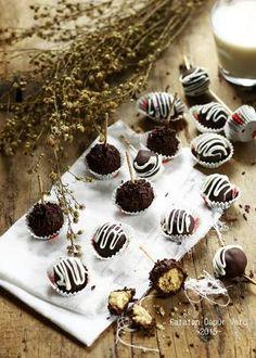 Resep Bola Bola Coklat Master Chef : resep, coklat, master, TRUFFLE, Ideas, Truffles,, Food,, Desserts
