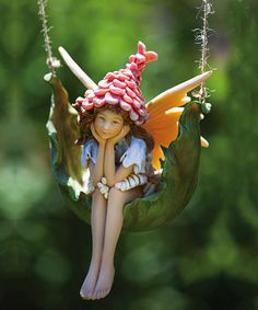 Take a look at this Proper Pixie Petal Fairy Figurine by Evergreen on #zulily today!
