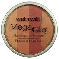 Looks high end! Wet n Wild Mega Glo Illuminating Powder in Strike-A-Pose-Rose. http://www.epinions.com/review/wet-n-wild-megaglow-illuminating-powder-strike-pose-3-pack/content_625478241924