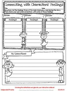 Freebie! This resource includes two grade 4 common core interactive notebook reading lessons, printable student pages, graphic organizers, a reflection on learning printable, and explanations for the lessons!