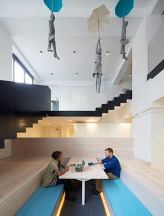Fold 7 office refurbishment by Paul Crofts Studio.