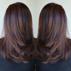 Chocolate brown and trim ;) #chocolatebrown #change #brunette #mochahair #brownhair #rich