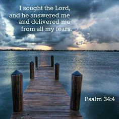 I sought The Lord.