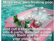 DIY pool toys
