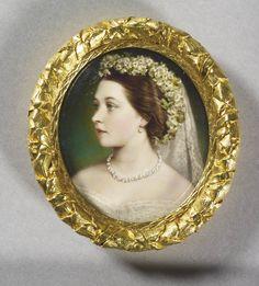 Victoria, Princess Royal on her wedding day. 1858.