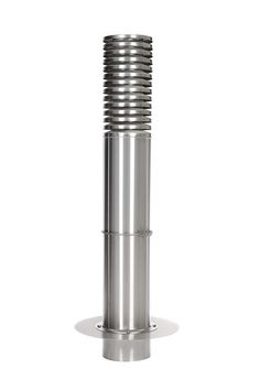 Intelmann Ansaugturm AT255V2A, Höhe = 1500 mm, mit Flansch, Außenluft Ansaugturm Erdwärmetauscher Edelstahl: Amazon.de: Baumarkt Pepper Grinder, Detail, Tension Ring, Pipes, Cleaning, Stainless Steel