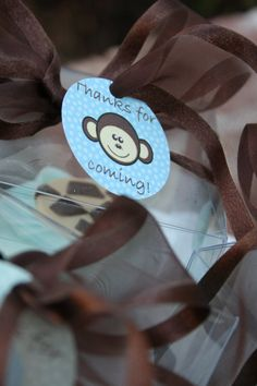 Free Jungle Baby Shower Printables - favor tags, guest book sign, and food tent signs