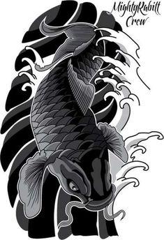 New doll tattoo daruma ideas Koi Tattoo Design, Tatto Koi, Pez Koi Tattoo, Koi Tattoo Sleeve, Japan Tattoo Design, Tattoo Sleeve Designs, Tattoo Designs Men, Koi Fish Tattoo Forearm, Japanese Koi Fish Tattoo