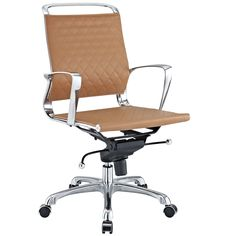 Vibe Lowback Office Chair in Tan