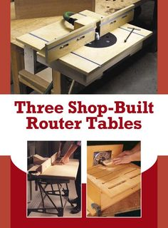 If you're looking for ideas to build a router table, read this page. We've collected 39 of the best DIY router table plans, videos, and PDFs.