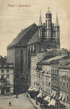 Danzig, Architecture Old, Prussia, Beautiful Buildings, Kirchen, Dom, World War Ii, Old Photos, Cover Design