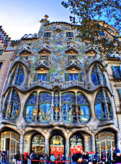 I have never seen anything as beautiful as Casa Battló. You neither?