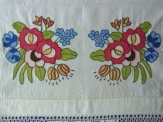 ハンガリー刺繍かわいい