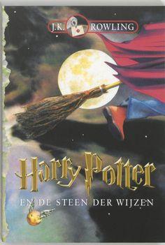 Harry Potter 1 - Harry Potter en de steen der wijzen Deel 1 Auteur: J. Hp Book, Book Club Books, Books To Read, Rowling Harry Potter, Fantasy Book Covers, Fantasy Books, Harry Potter Book Covers, Philosophers Stone, The Lunar Chronicles