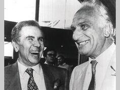 Enzo Tortora con Marco Pannella.