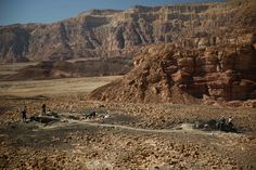 Archaeologists say that new excavations in Israel's Timna Valley show that ancient copper mines were not controlled by Egyptians, as previously thought, but by a semi-nomadic people known as the Edomites.