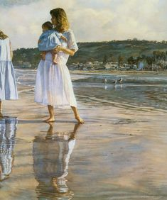 reflections on lajolla shores