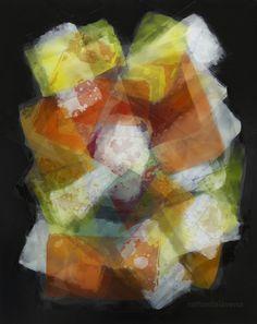V1 V4 5  Particular Mixed media on canvas #art #installation 2013