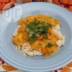 Pumpkin and Ham Curry @ allrecipes.com.au