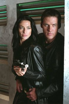 Farscape- I just love this tv show couple. :-) Awesome show if you haven't seen it then give it a try!!!