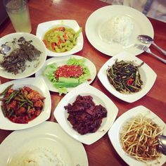 Malay vegetable dishes for lunch