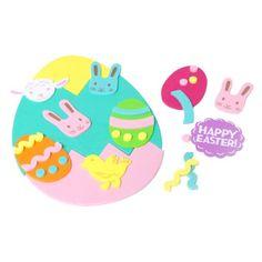 Target-Foam Sticker Bucket Easter