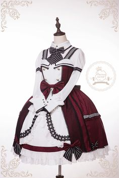 Precious Clove -Guard of Honour- Lolita Jumper Dress