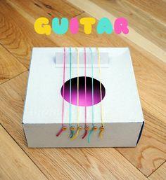Kid Craft: Cardboard Guitar