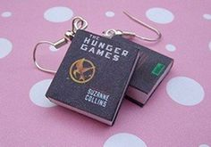 Look at these cute Hunger Games earrings!