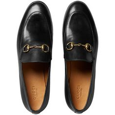 Gucci Gucci Jordaan leather loafers