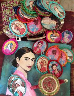 thé médaillons et Frida