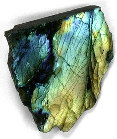 Labradorite. Stimulates the imagination and improves the memory. has a calming and harmonizing effect. Labradorite symbolizes fantasy and creativity. Linked to Aquarius.