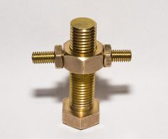 Brass Bolt Puzzle - A very evil geocache could be born out of this...