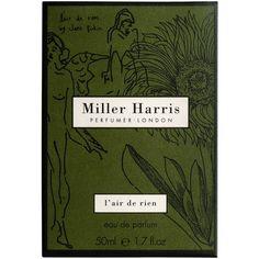 Miller Harris L'Air de Rien Eau de Parfum 100ml ($160) ❤ liked on Polyvore featuring beauty products, fragrance, none, miller harris perfume, parfum fragrance, perfume fragrance, miller harris and eau de parfum perfume