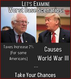 #BernieorBust