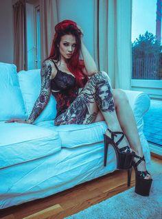 Model: Starfucked Photo: Anouk Dyonne Photography Welcome to Gothic and Amazing | www.gothicandamazing.com