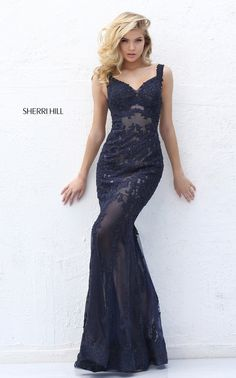 2016 Spagetti Straps Sweetheart Beading Lace Mermaid Prom Dress Pattern 50762