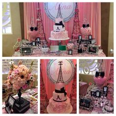 Chanel/Paris party theme by Ellenarievents @Narine Avetisyan