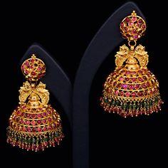 Gold Jewelry Design In India Kerala Jewellery, Indian Jewellery Design, India Jewelry, Temple Jewellery, Gold Jewelry, Jewelry Design, Latest Jewellery, Handmade Jewellery, Filigree Jewelry