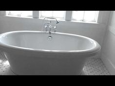 Master Bathroom with free standing tub