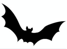 Bat Template To Cut Out Templates Printable Decorations