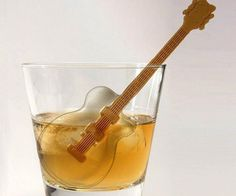 Guitar Ice Cube Mold - https://tiwib.co/guitar-ice-cube-mold/ #GiftforWomen, #GiftsForMen, #KitchenCooking #gifts #giftideas #2017giftideas #xmas