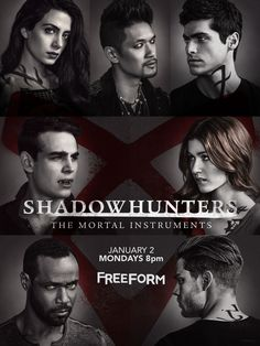 I love this poster #ShadowHunters➰